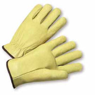 PIP® X-Large Natural Select Grain Pigskin Unlined Drivers Gloves
