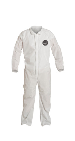 DuPont3X White ProShield® 10 SMS Disposable Coveralls -Price is per 1 Each