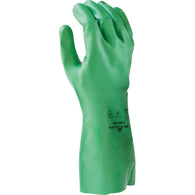 SHOWA 10 Red PVC/Nitrile Chemical Resistant Gloves