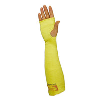 "Wells Lamont 18"" Yellow Kevlar®/Yarn Made In The USA Sleeve With Thumbhole"