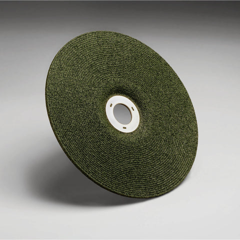 "3M 7"" X 1/8"" X .875"" Green Corps 36 Grit Type 27 Grinding Wheel"