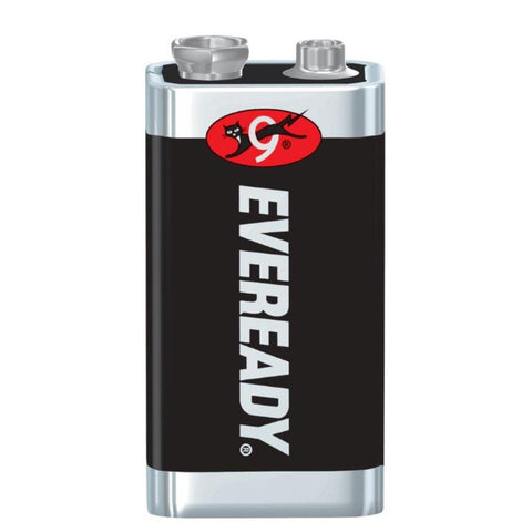 Energizer® Eveready® Super Heavy Duty® 9 Volt Battery -Price is per 72 Each
