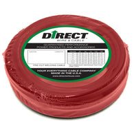 Direct Wire & Cable #1 Red Flex-A-Prene Welding Cable 50' Shrink Pack   -Price is per 50 Foot