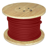 Direct Wire & Cable #2 Red Flex-A-Prene Welding Cable 500' Reel   -Price is per 500 Foot