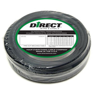 Direct Wire & Cable #8 Black Flex-A-Prene Welding Cable 50' Shrink Pack   -Price is per 1 Foot