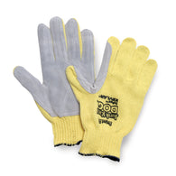 Honeywell Ladies Junk Yard Dog® 7 Gauge Kevlar® Brand Fiber And Leather Cut Resistant Gloves   -Price is per 1 Pair