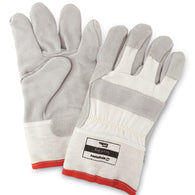 Honeywell One Size Fits Most GUARDDOG Leather/Canvas Cut Resistant Gloves
