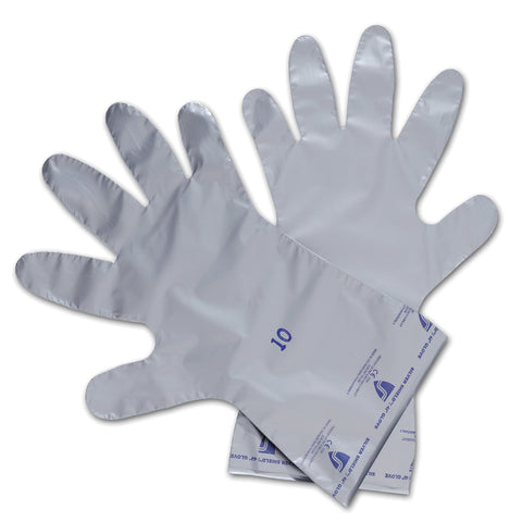 Honeywell Size 8 Silver North® Silver Shield® 2.7 mil Ethylene And Polyethylene And Vinyl Chemical Resistant Gloves