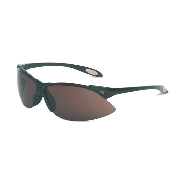 Honeywell Uvex® A900 Black Safety Glasses With Gray Anti-Scratch/Hard Coat Lens -Price is per 1 Each