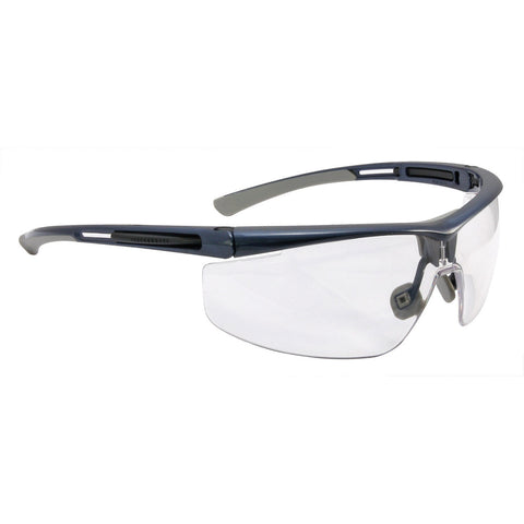 Honeywell North Adaptec Black Safety Glasses With Clear Anti-Fog/Anti-Scratch/Anti-Static/Anti-UV Lens