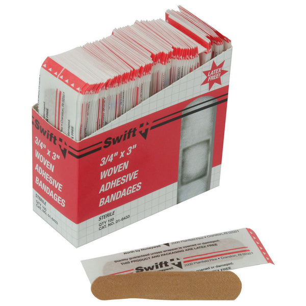 "Honeywell 3/4"" X 3"" Bandage -Price is per 1 Box"