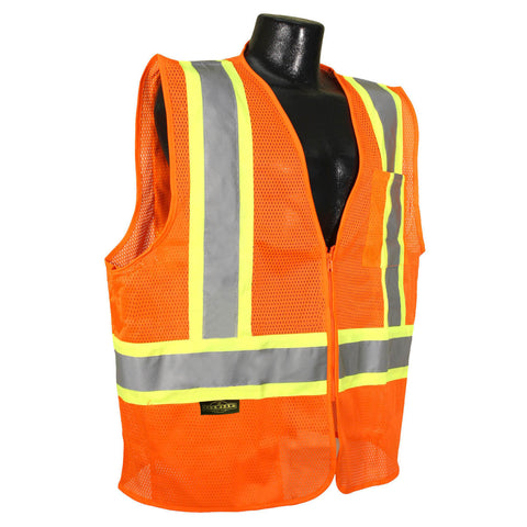 Radians, Inc. X-Large Hi-Viz Orange RadWear Polyester Mesh Vest