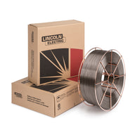 "1/16"" Lincoln Electric® Lincore® 55 Self Shielded Flux Core Hard Face Alloy Steel Tubular Welding Wire 25# Steel Spool"