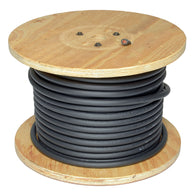 RADNOR® 4/0 Black Flexible Welding Cable 500' Reel   -Price is per 1 Foot