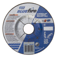 "Norton® 4 1/2"" X 1/8"" X 7/8"" BlueFire® Extra Coarse Grit Zirconia Alumina Type 27 Depressed Center Combination Wheel   -Price is per 1 Each"