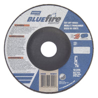"Norton 5"" X 1/16"" X 7/8"" BlueFire RightCut Extra Coarse Grit Type 27/42 Depressed Center ¦"