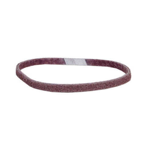 "Norton® 1/4"" X 18"" Medium Grade Aluminum Oxide Bear-Tex Rapid Prep Maroon File Belt"