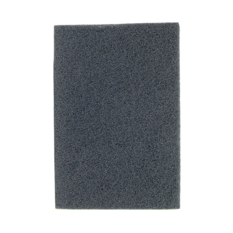 "Norton® 6"" X 9"" 100 - 150 Grit Silicon Carbide Bear-Tex® Series 746 Gray Hand Pad   -Price is per 40 Each"