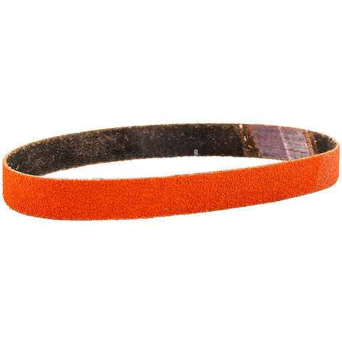 "Norton® Blaze® 1/2"" X 12"" 40 Grit Premium Ceramic Alumina Cloth File Belt   -Price is per 50 Each"