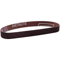 "Norton® Metalite® R283 1/2"" X 18"" P60 Grit Aluminum Oxide Cloth File Belt   -Price is per 50 Each"