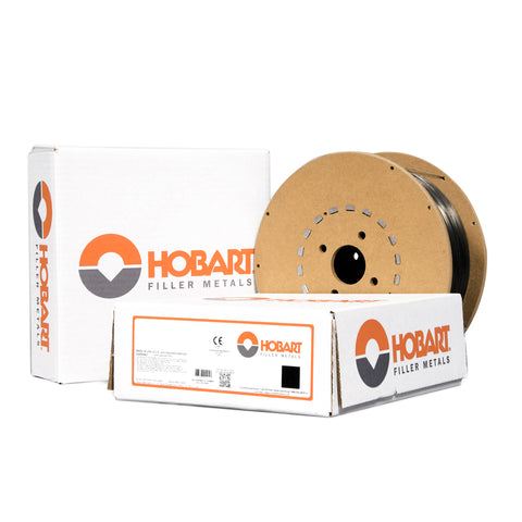 "Hobart .045"" E71T-1C Excel-Arc 71 Gas Shielded Flux Core Carbon Steel Tubular Welding Wire 44 lb Spool"