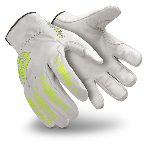 HexArmor® Large Chrome Series® SuperFabric® And Goatskin Cut Resistant Gloves   -Price is per 1 Pair