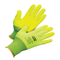 Honeywell X-Large NorthFlex Neon NF11HVY 15 Gauge Hi-Viz Yellow Foam PVC Three-Quarter Coated Work Gloves With Hi-Viz Yellow Nylon Liner And Knit Wrist