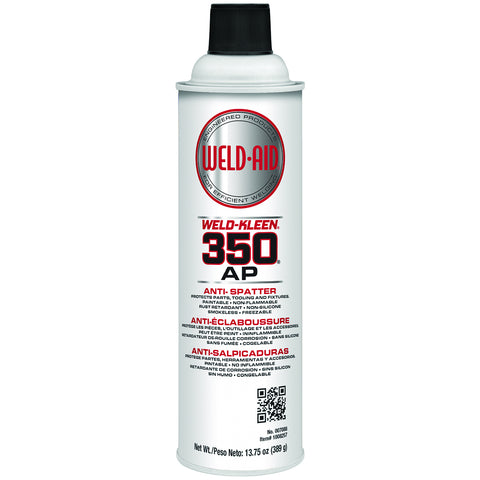 Weld-Aid 16 Ounce Aerosol Red Weld-Kleen 350® All Position Bag-on-Valve Aerosol Anti-Spatter   -Price is per 1 Each