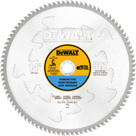 "DEWALT 14""  Carbide Circular Saw Blade"