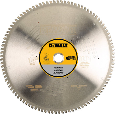 "DEWALT® 14"" 100T Carbide Circular Saw Blade (For Metal Cutting)"