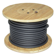Direct Wire & Cable 2/0 Black Flex-A-Prene Welding Cable 250' Reel-Price is per 250 FT