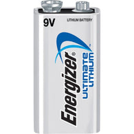Energizer® 9 Volt/Ultimate Lithium Battery (12 Per Package)-Price is per 48 Each