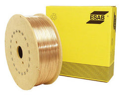 ".045"" ER70S-2 ESAB® Spoolarc® 65 Triple Deoxidized Carbon Steel MIG Welding Wire 44# 12'' Spool"