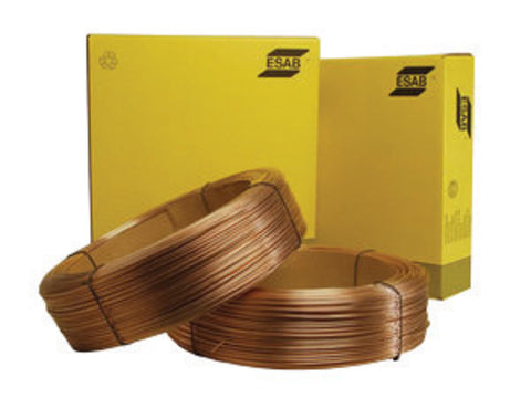 "5/32"" EM14K ESAB® Spoolarc® 71 Carbon Steel Submerged Arc Welding Wire 1000# Drum-Price is per 2000 LB"