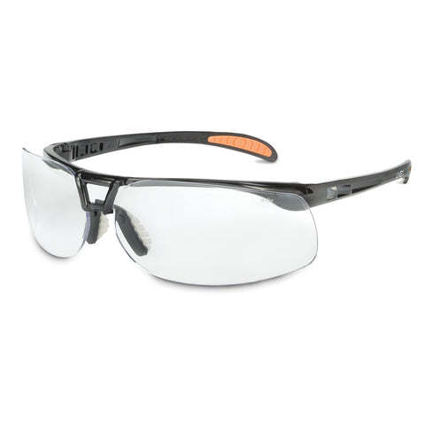 Honeywell Uvex Protege Gloss Black Safety Glasses