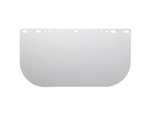 "Kimberly Clark Professional* Jackson Safety* Model 8154 8"" X 15.500"" X .040"" Clear Polycarbonate Unbound Faceshield-Price is per 1 Each"