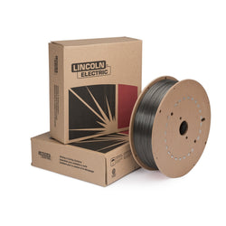 ".052"" E70C-6M H4 Lincoln Electric® Metalshield® MC-6 Gas Shielded Metal Core Carbon Steel Tubular Welding Wire 50# Fiber Spool"