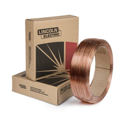 ".125"" EF3 Lincoln Electric® Lincolnweld® LA-84 Low Alloy Steel MIG Welding Wire 60# Coil"