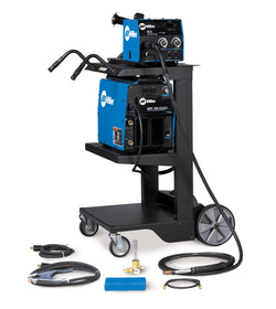 Miller® XMT® 350 MIGRunner™ CC/CV 208-575 Volt 1 or 3 Phase 60 Hz Multi Process Welder W/XMT® 350 CC/CV Power Source, 22A Wire Feeder, Bernard®