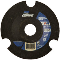 "Norton® 4 1/2"" X 1/8"" X 7/8"" Gemini® AVOS® Coarse Grit Aluminum Oxide Type 29 Depressed Center Grinding Wheel-Price is per 1 Each"
