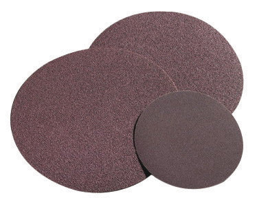 "Norton® 3"" X 2-Ply 80 Grit Medium Grade Aluminum Oxide Metalite® R228 Speed-Lok® Maroon TR (Type III) Cloth Disc"
