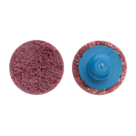 "Norton® 2"" 80 Grit Medium Grade Aluminum Oxide Aggregate Bear-Tex® Vortex Rapid Prep Red Quick Change Disc-Price is per 50 Each"