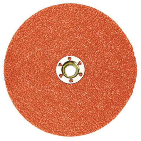 "3M 5"" 36 Grit 987C Cubitron Very Coarse Grade Quick Change Closed Coat Fiber Disc   -Price is per 1 Each"