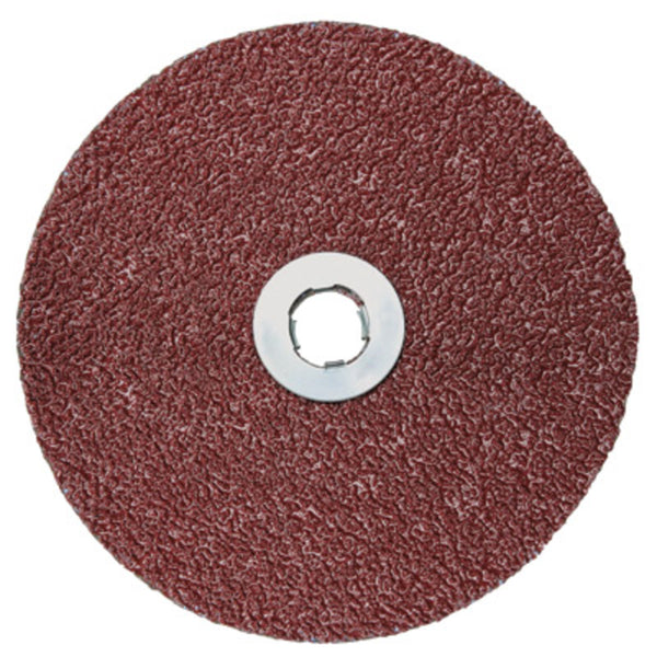 "3M 5"" 60 Grit 982C Cubitron II Medium Grade Quick Change Closed Coat Resin Bond Fiber Disc -Price is per 25 Each"