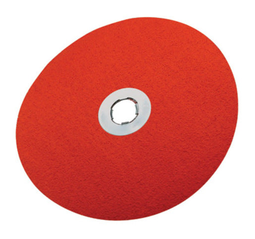 "3M 7"" X 7/8"" 80 Grit 785C Ceramic Medium Grade Closed Coat Fiber Disc (25 Per Box"