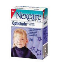 "3M 3 1/4"" X 2 1/4"" Nexcare Opticlude Orthoptic Eye Patch"
