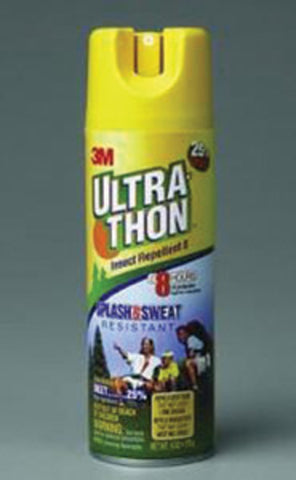 3M 6 Ounce Aerosol Can Yellow Ultrathon Insect Repellent Spray