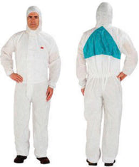 3M Large White Polypropylene/Polyethylene Disposable Coveralls