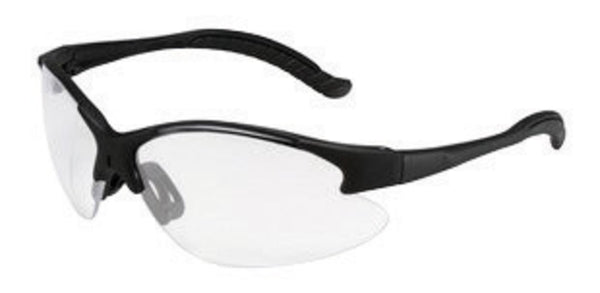 3M Virtua V6 Safety Glasses With Black Frame And Clear Polycarbonate Hard Coat Lens