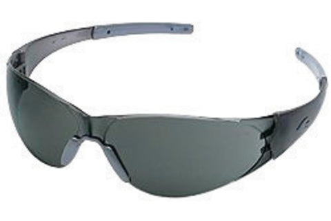 Crews® Checkmate® 2 Safety Glasses With Metal Chrome Polycarbonate Frame
